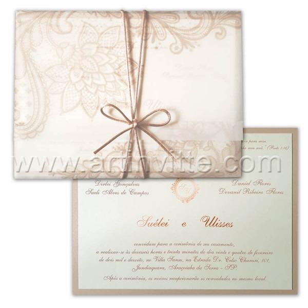 Convites de casamento, convites de 15 anos e brasões