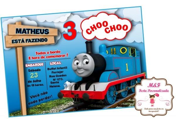 Thomas e seus amigos lousa