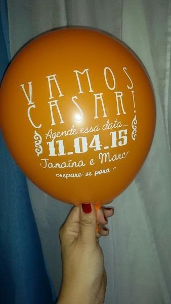 Balão convite