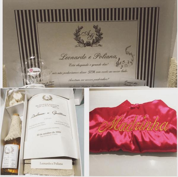 Convites de casamento andressa
