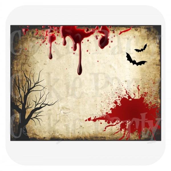 Convites festa scary halloween pdf no elo7