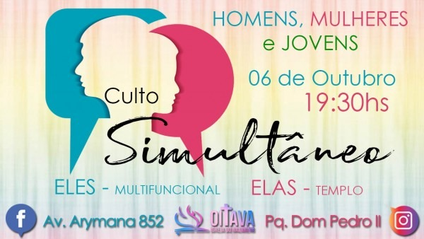 Culto simultâneo homens e mulheres (06 10)