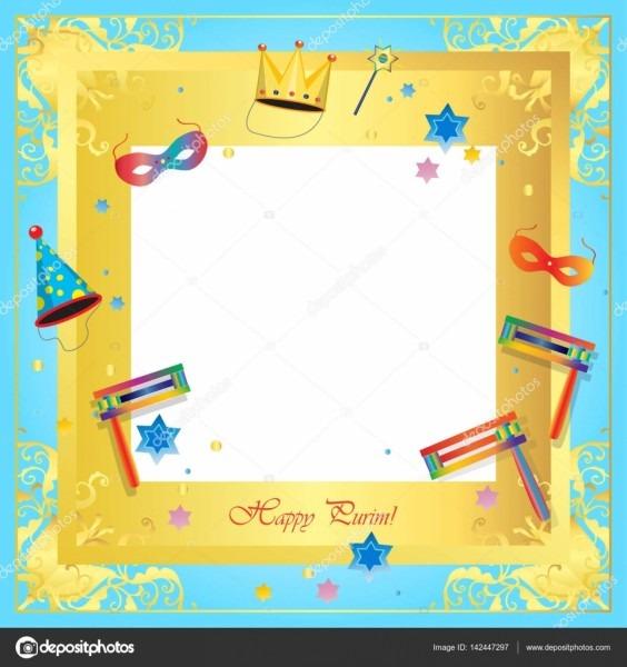 Feliz carnaval de purim, festival, música masquerade cartaz