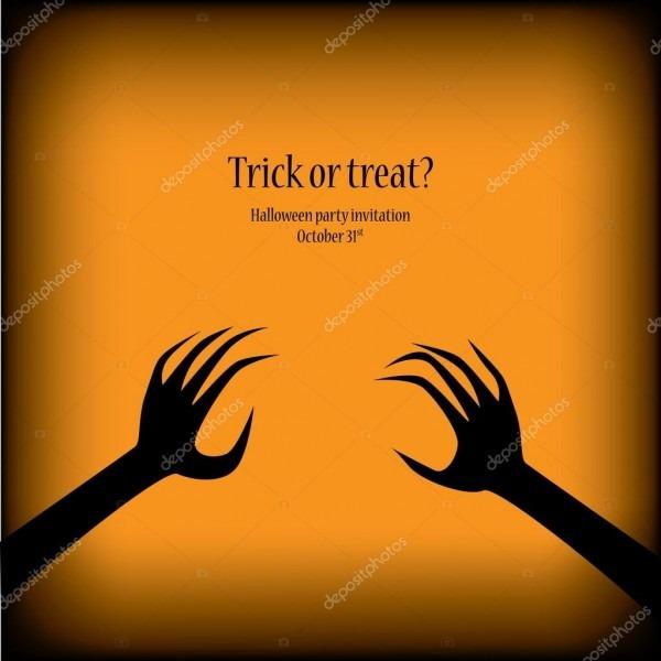 Halloween ilustração vector apropriado para convites de festa com