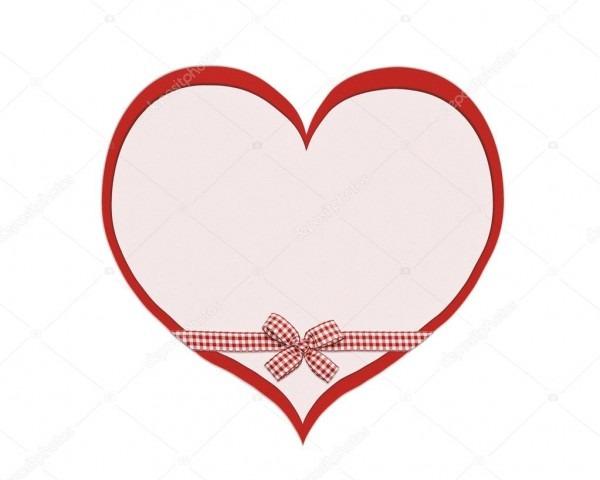 Cartão, o coração de convite — fotografias de stock © irogova