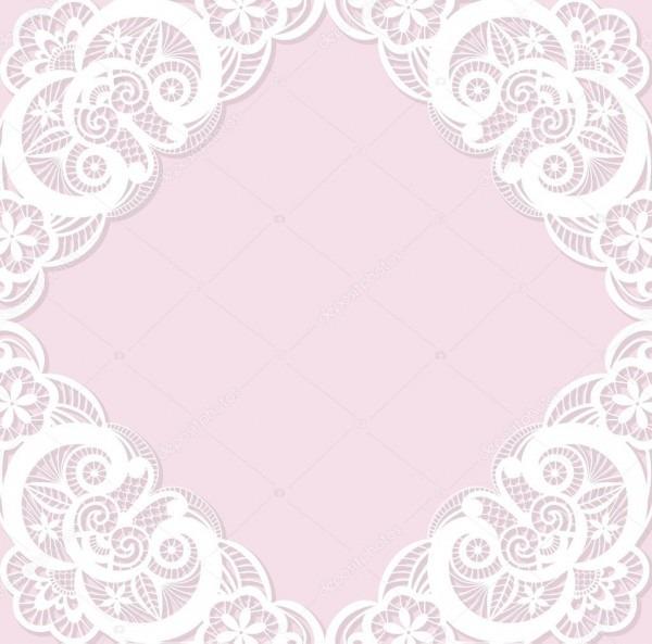 Modelo de convite de casamento clássico com laço branco — vetores