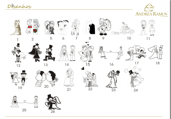 Desenhos de convites