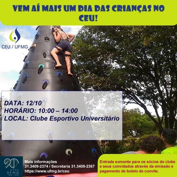 Ceu promove evento em comemoração ao dia das crianças