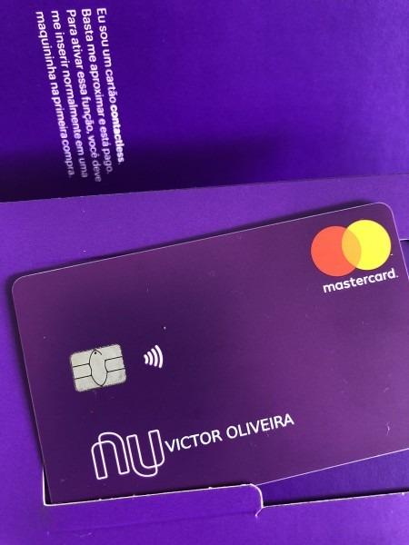 Victor oliveira on twitter   gente, o cartão do @nubank está