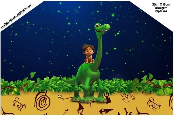 Envelope convite o bom dinossauro
