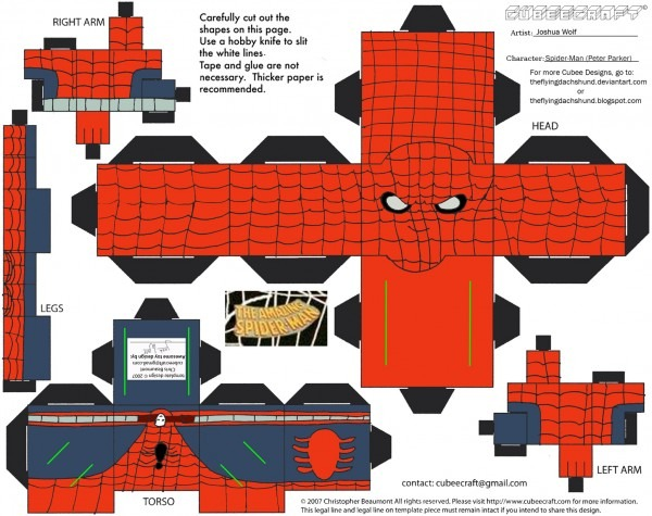 Homem aranha 3d