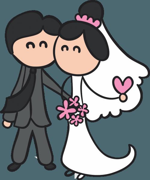 Imagens de noivinhos para convite de casamento png 4 » png image