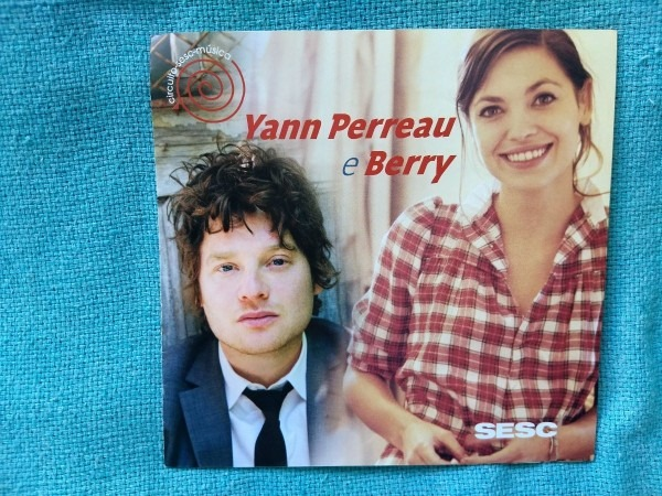 Ingresso convite folder yann perreau berry 2011 vila mariana