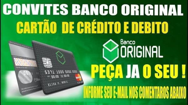 💳banco original convite cartao de crÉdito mastercard com limite