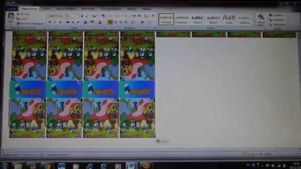 Imprimir varias imagens em 1 página no word
