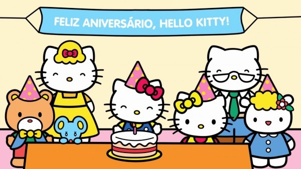 Aniversário da hello kitty