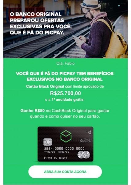Cartão de crédito banco original mastercard black • falando de viagem