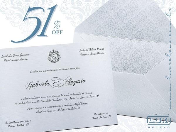 Convite de casamento paris m perolizado