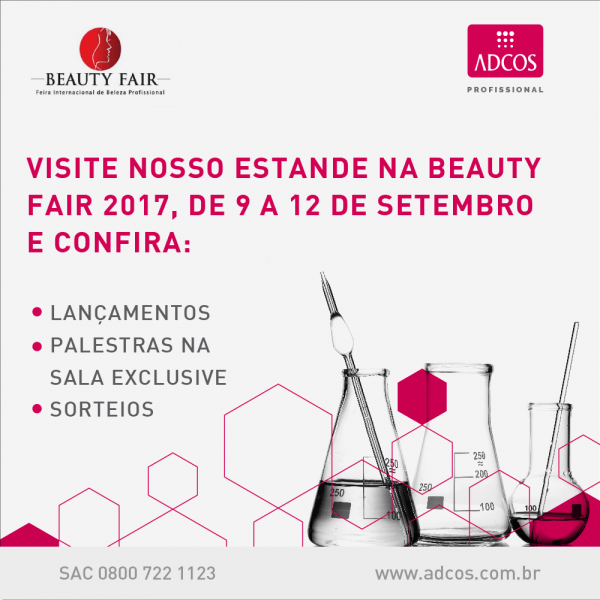 Post convite beauty fair – estande