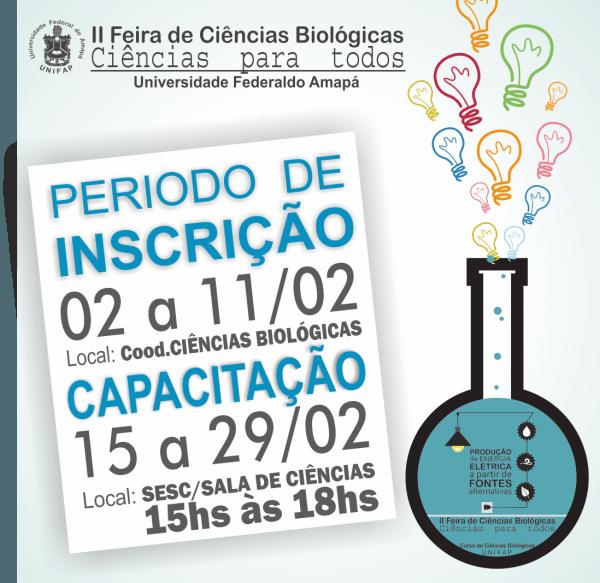 Universidade portas abertas – ciências biológicas