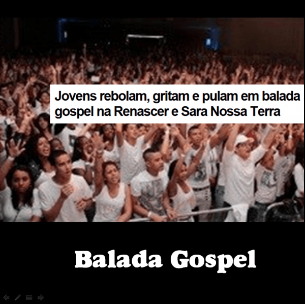 Balada gospel em igrejas neopentecostais cresce no brasil