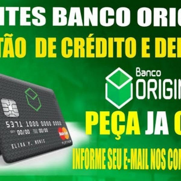Convite cartao de credito banco original, cuiabá