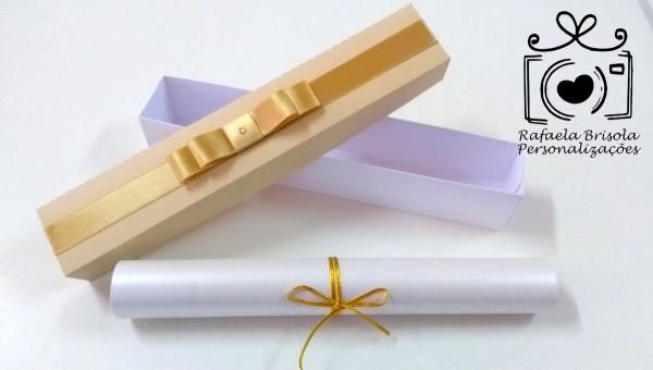 052 caixa convite pergaminho