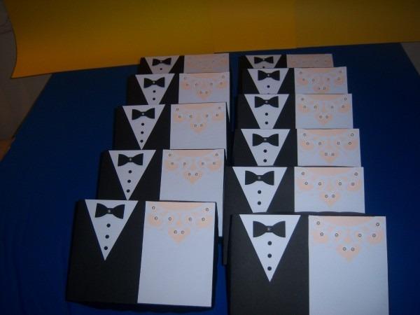 10 caixas para convite padrinhos de casamento