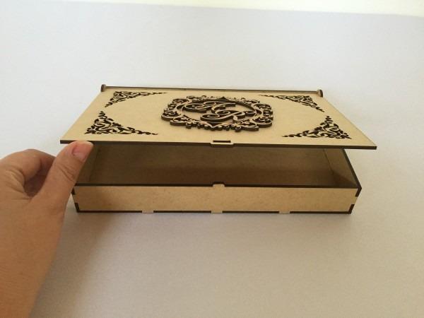 20 caixa mdf convite casamento padrinhos brasão noivos 5cm