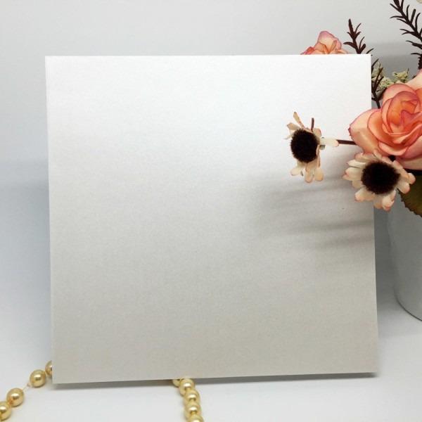 20 pçs set marfim iridescente envelope cartão de convite de