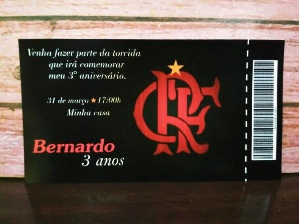 Convite do flamengo código  064
