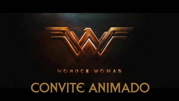 Convite animado mulher maravilha (40 anos) on vimeo