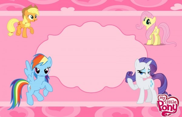 Kit de aniversário  my little pony