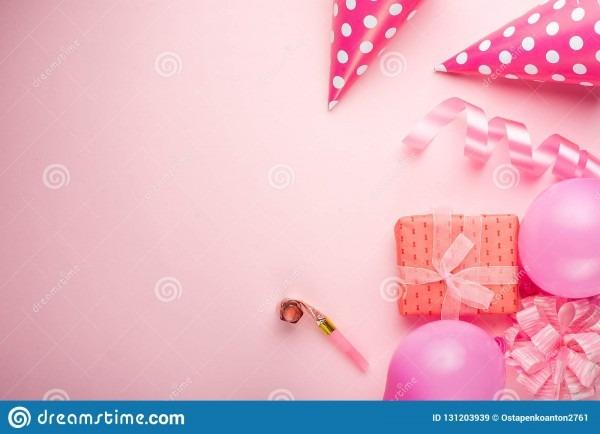 Acessórios para meninas em um fundo cor