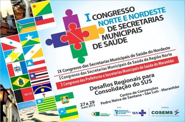 Convite i congresso norte nordeste de secretários municipais de