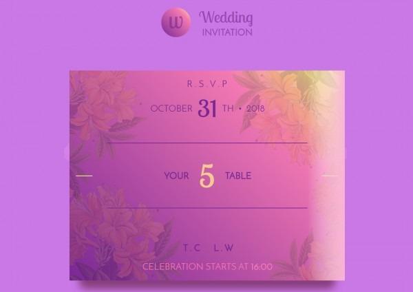 Tema site html para convite de casamento online