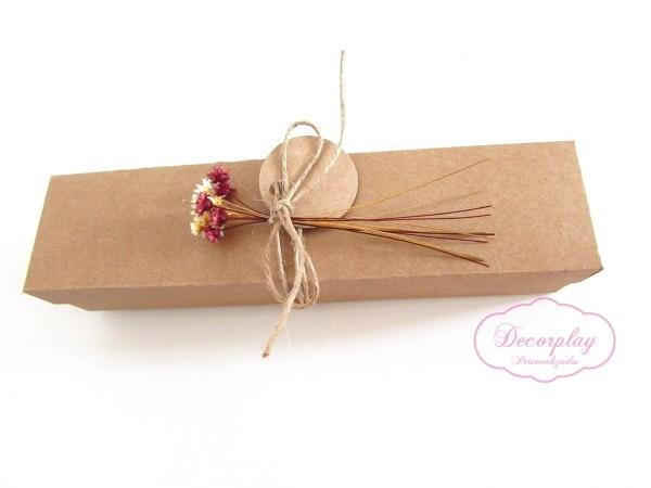 Caixa para convite pergaminho 40 caixa