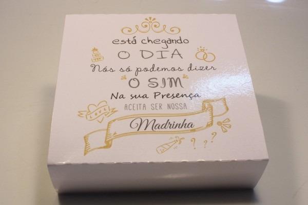 Casamento convite padrinho madrinha o sim toalha 16 uni
