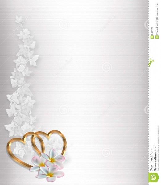 Cetim do branco do convite do casamento ilustração stock