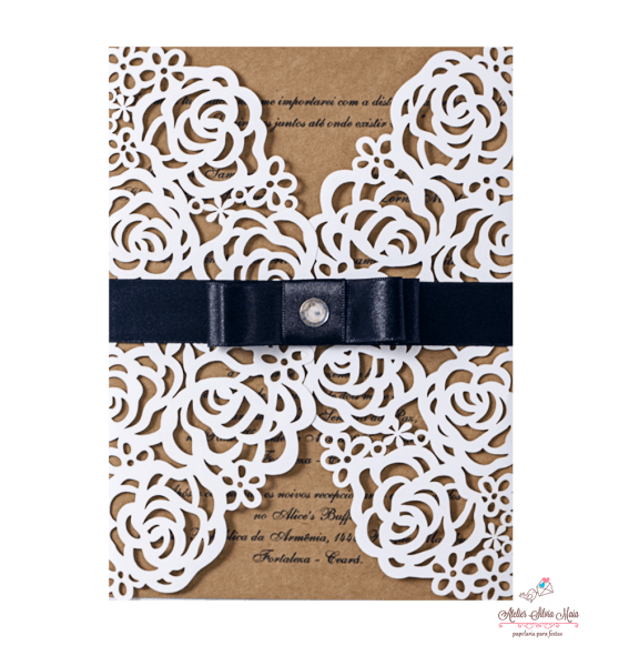 Atelier silvia maia convites finos