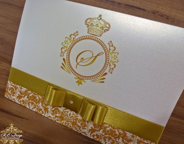 Convite para aniversário papel brilhante no elo7