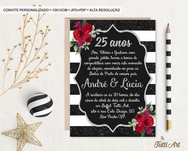 Frases para convites de bodas de ouro