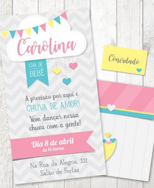 Convite arquivo pdf + convite virtual
