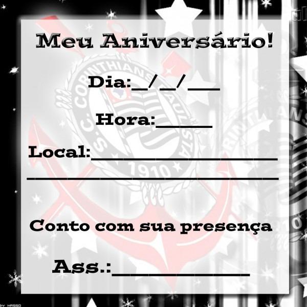Convite de aniversario masculino para imprimir 4 » happy birthday