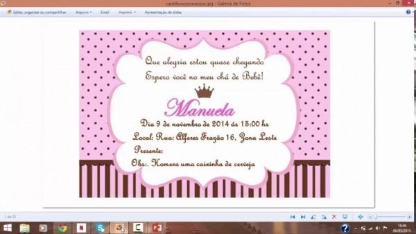 Convite de aniversario para editar 2 » happy birthday world