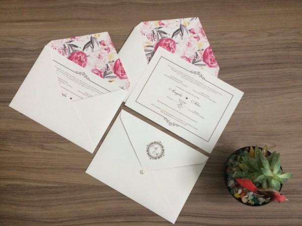 Convite de casamento em londrina parana pr