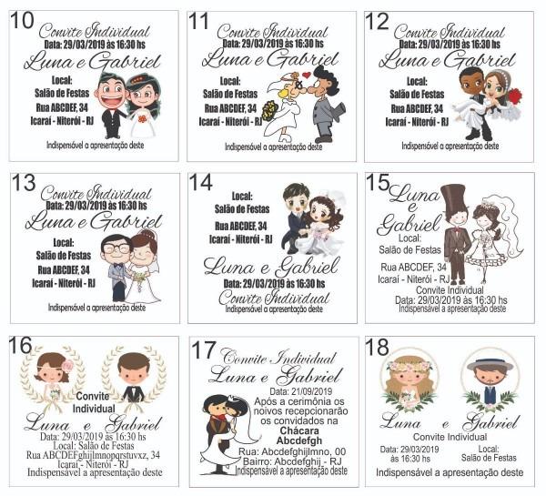Convite de casamento lembrancinhas de casamento 300 convites