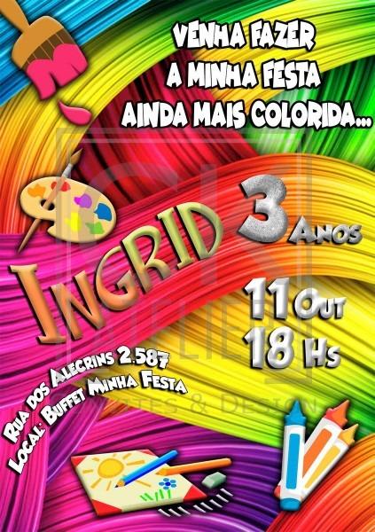 Convite digital atelier no elo7