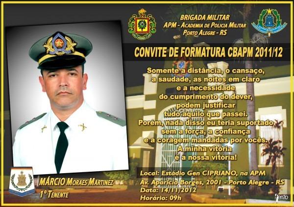 Polícia e segurança  formatura do cbapm 2012
