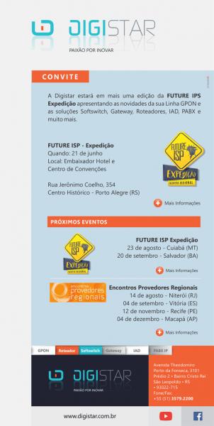 Convite digistar    future isp expedição – porto alegre (rs
